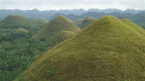 Beautiful Scenery From Sky Bahol, Philippines Stock