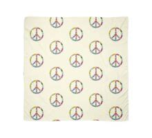"""""""Peace Sign Cool Retro Flowers Design"""" Tote Bags by Denis"""