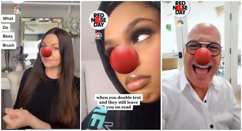 TikTok's Red Nose Day Charity Campaign - StayHipp