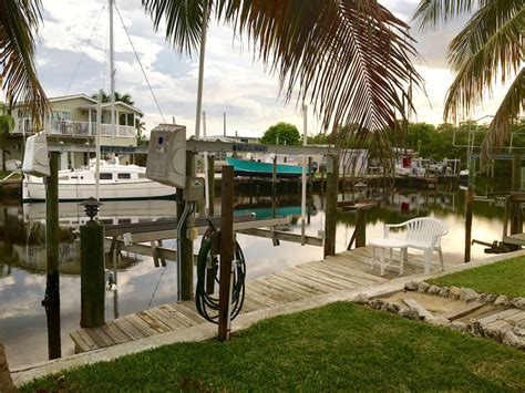 The Snook House - waterfront with dock and lift