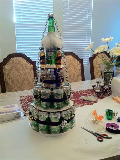 Beer can cake :)   Beer birthday party, Beer birthday
