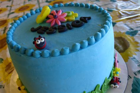 Spring birthday cake for a 9-year-old girl   This spring