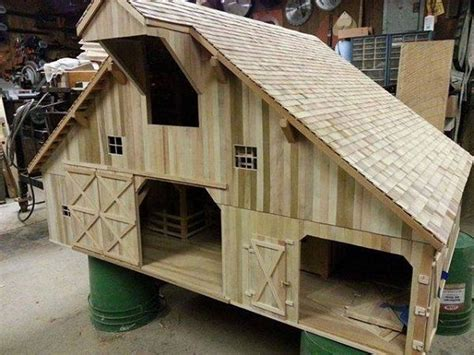 Looking for a hobby Check this out | Wooden toy barn