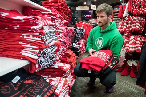 The Frost effect: Husker gear flying off the shelves at