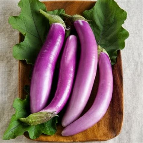Eggplant Seeds - Long Asian | Vegetable Seeds in Packets
