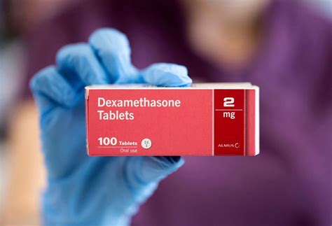 Who manufactures dexamethasone? Brand name and study