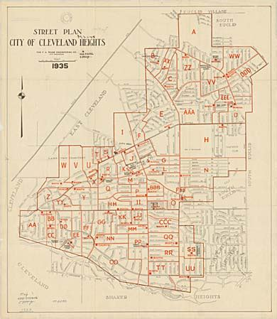Cleveland Heights Maps
