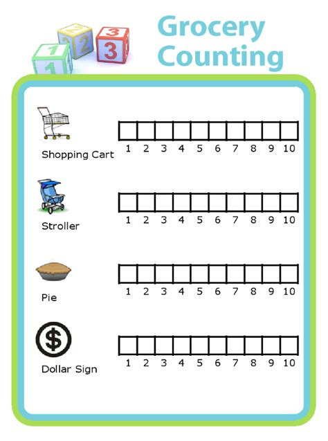Grocery Shopping Activities With Kids - The Trip Clip