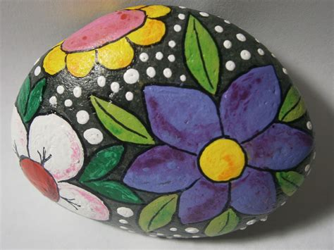 """Painted Rock """"Flowers"""" at www"""