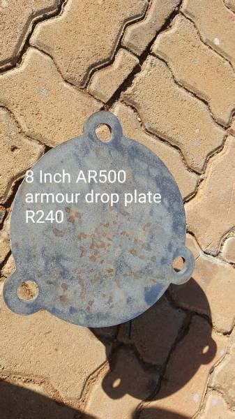 Armour plate targets, 1/4 inch thick AR500 target plates