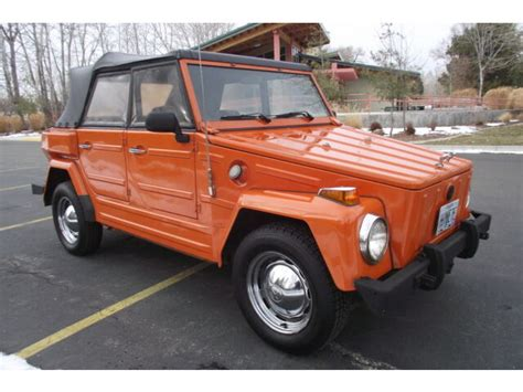 Beautiful Original 1974 Vw Thing - Two Owners *** - Used