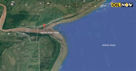 Berbice River conditions ideal for Crab Island on-shore