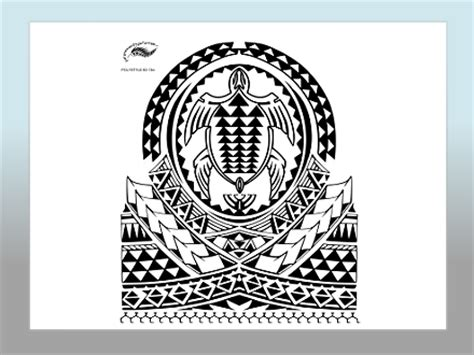Polynesian Style Tattoo Designs Page Seven