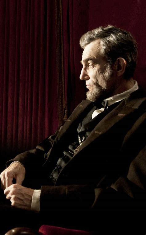 Daniel Day-Lewis as Abraham Lincoln in Lincoln from Stars